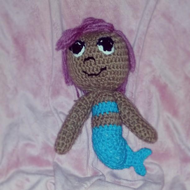 A yarntastic Bubble Guppy