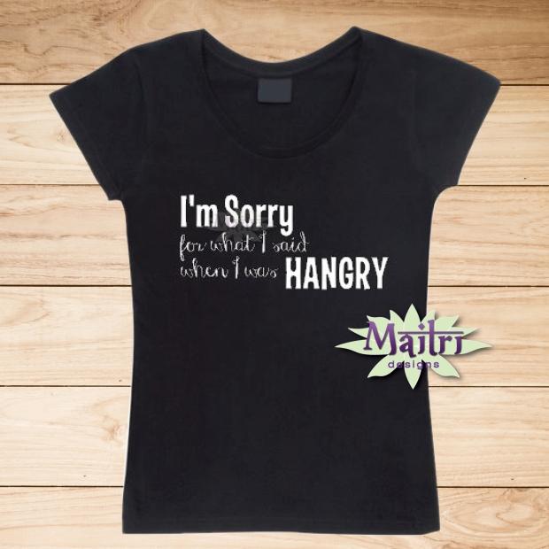 I was Hangry